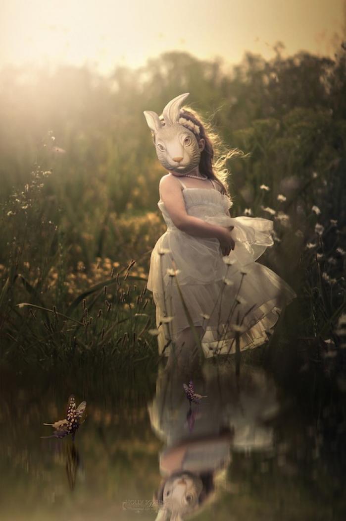 Impresionant! O mamă maschează handicapul fiicei în fotografii spectaculoase