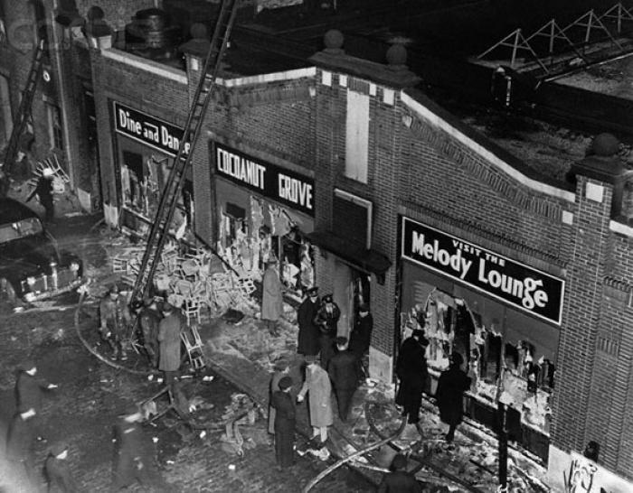 Cele mai GRAVE incendii din istorie petrecute la CLUBURI! 1942, Boston: 492 de morţi