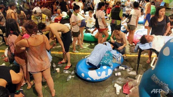Taiwan: Explozia dintr-un parc acvatic s-a soldat cu peste 500 de răniți