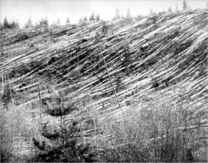 30 iunie 1908, FENOMENUL TUNGUSKA. Explozia echivalentă cu 20 de bombe atomice arunca în aer 2.150 de km2
