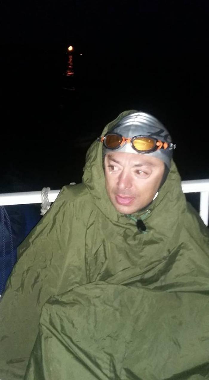 SENZAȚIONAL! Andrei Roșu a devenit PRIMUL ROMÂN care a traversat Canalul Mânecii înotând