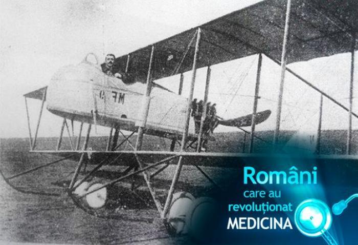 Români care au revoluționat medicina: VICTOR ANASTASIU, aviator, medic și psihofiziolog