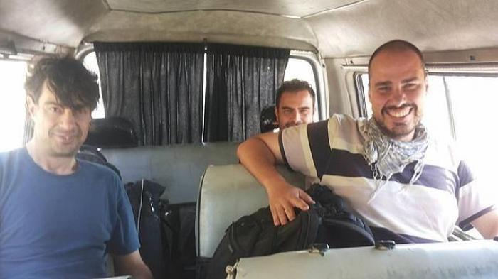 Trei ziariști spanioli au fost dați dispăruți în Siria