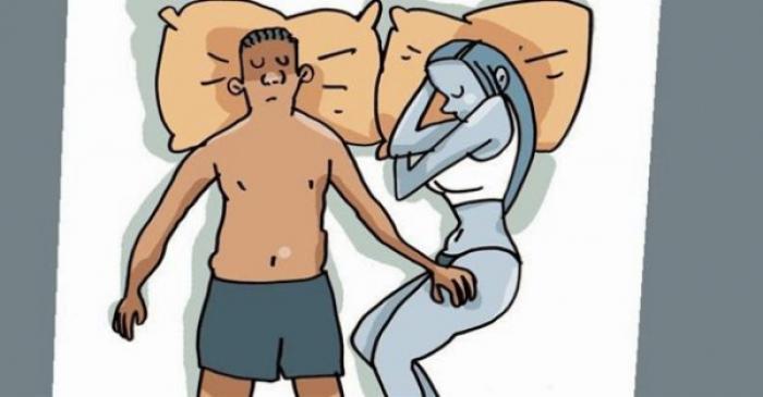 POZIȚIA în care dormi TU și PERSOANA IUBITĂ dezvăluie anumite secrete