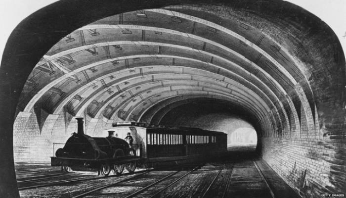 6 august 1863: PRIMUL METROU din lume, un sanţ acoperit de 6 kilometri