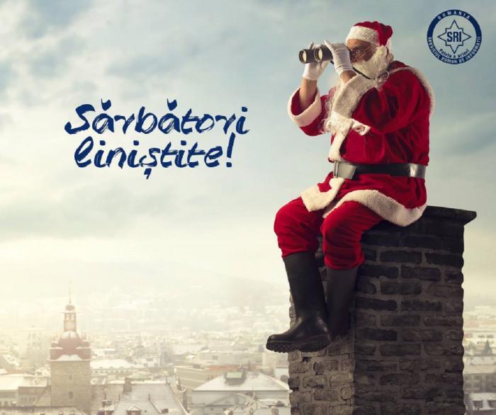 Mesaj inedit de Crăciun, de la SRI