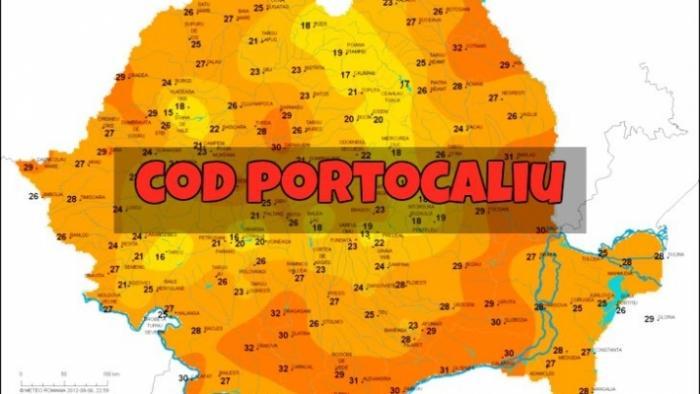 ATENŢIONARE METEO! România se topeşte la propriu! COD PORTOCALIU de caniculă și disconfort termic. Ce judeţe sunt afectate