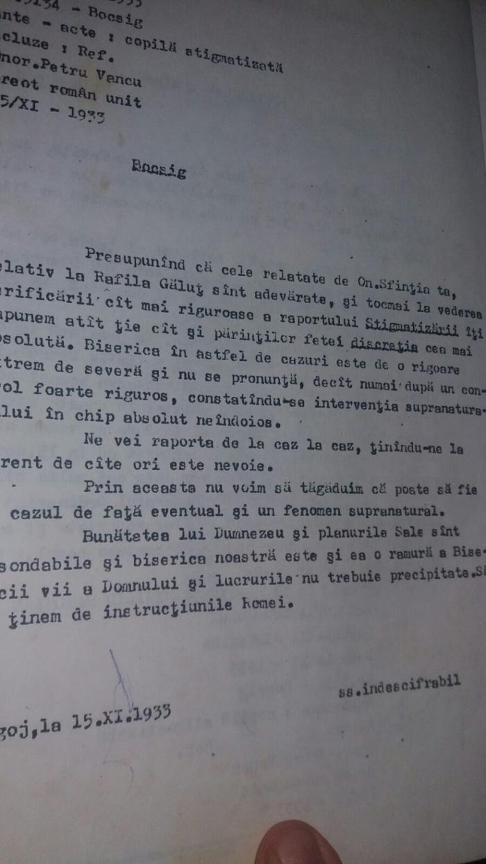 """POVESTEA incredibilă a Rafilei Găluț, românca propusă pentru beatificare. DOCUMENTE vechi dezvăluie cum au încercat mai marii bisericii să ascundă stigmatele: """"Sătenii îi tăiau din haine și din păr"""""""