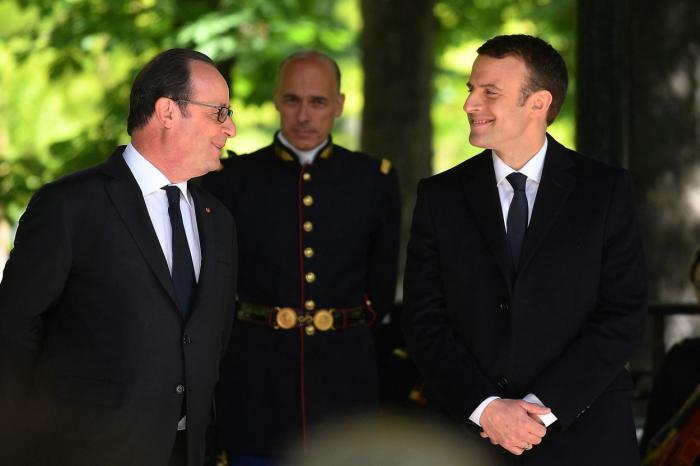 PREDARE DE ŞTAFETĂ. Emmanuel Macron este noul preşedinte al Franţei! Urmăriţi LIVE ceremonia