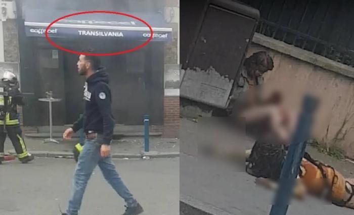 IPOTEZĂ ŞOCANTĂ în cazul ATACULUI care a îngrozit Franţa! Cine se afla în RESTAURANTUL ROMÂNESC în momentul în care indivizi mascaţi au stropit localul cu benzină şi i-au dat foc