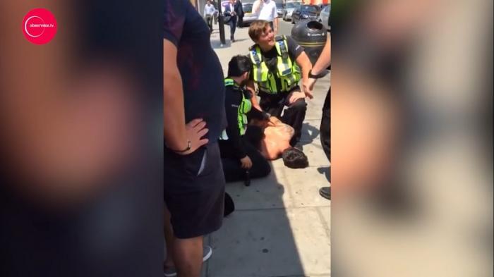 """UN ROMÂN a provocat ISTERIE la Londra! Toată lumea a crezut că e un terorist care strigă """"Allahu Akbar"""" (VIDEO)"""