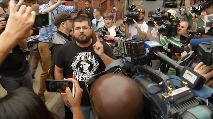 """INTERVIU EXCLUSIV cu extremistul american, admirator al Gărzii de Fier, artizanul protestelor violente din Virginia: """"M-am căsătorit în Bucureşti"""""""