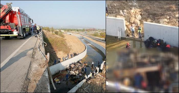 Carnagiu în Turcia. 19 morţi, între care şi copii, după ce un camion a căzut într-un canal de irigaţie. MAE anunţă dacă sunt români printre victime