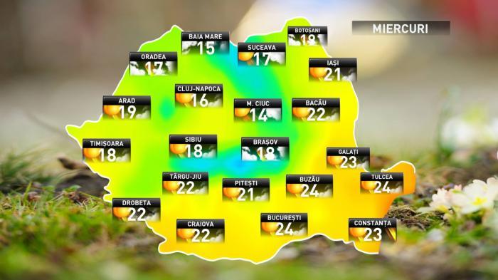 Vreme frumoasă pe 3 octombrie. Prognoza meteo anunţă temperaturi în creştere