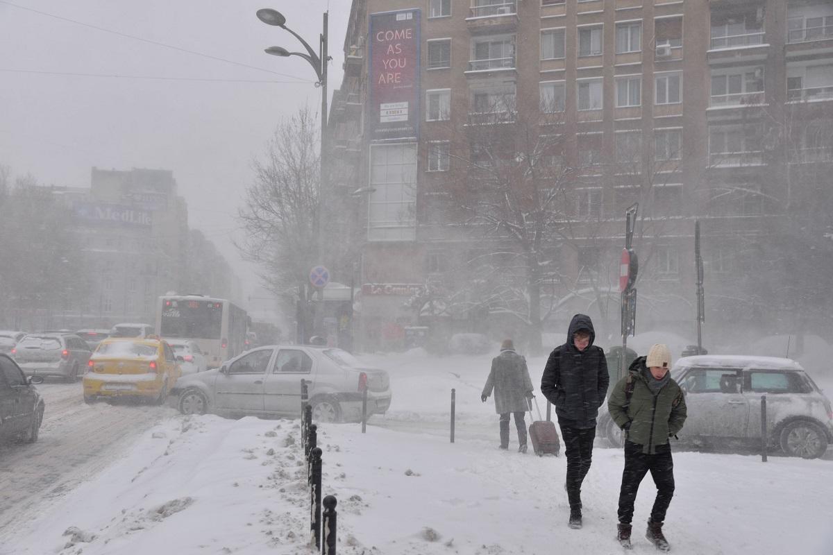 vremea va deveni rece în toată țara, chiar deosebit de rece în estul și sud-estul teritoriului