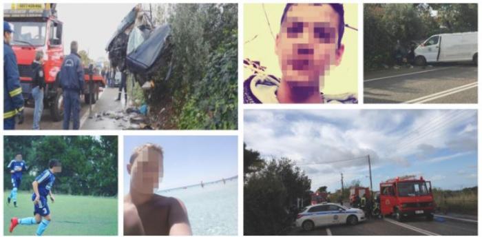 Catastrofă cu microbuz românesc, în Grecia. Trei adolescenţi de 15 ani au murit într-un accident cumplit