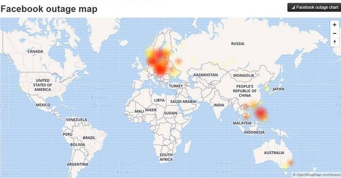 Facebook a picat în întreaga lume. Milioane de utilizatori nu au putut accesa reţeaua de socializare