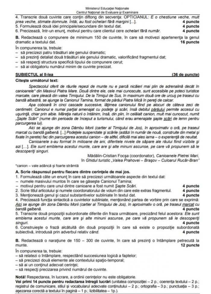 Încep înscrierile pentru pentru Evaluarea Naţională 2018 clasa VIII. Calendarul examenelor și modele de subiecte