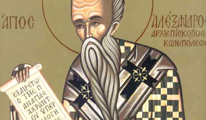 Sărbătoare 30 august 2018. Sfântul Alexandru, sărbătorit de creştinii ortodocşi