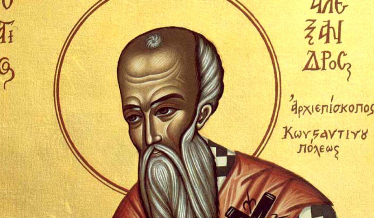 Sfantul Alexandru este sarbatorit in fiecare an pe 30 august