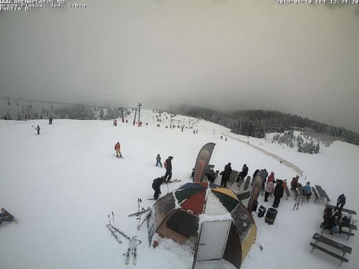 Ninge abundent la Bâlea Lac și Păltiniș.Stratul de zăpadă are aproape 2metri (Video)