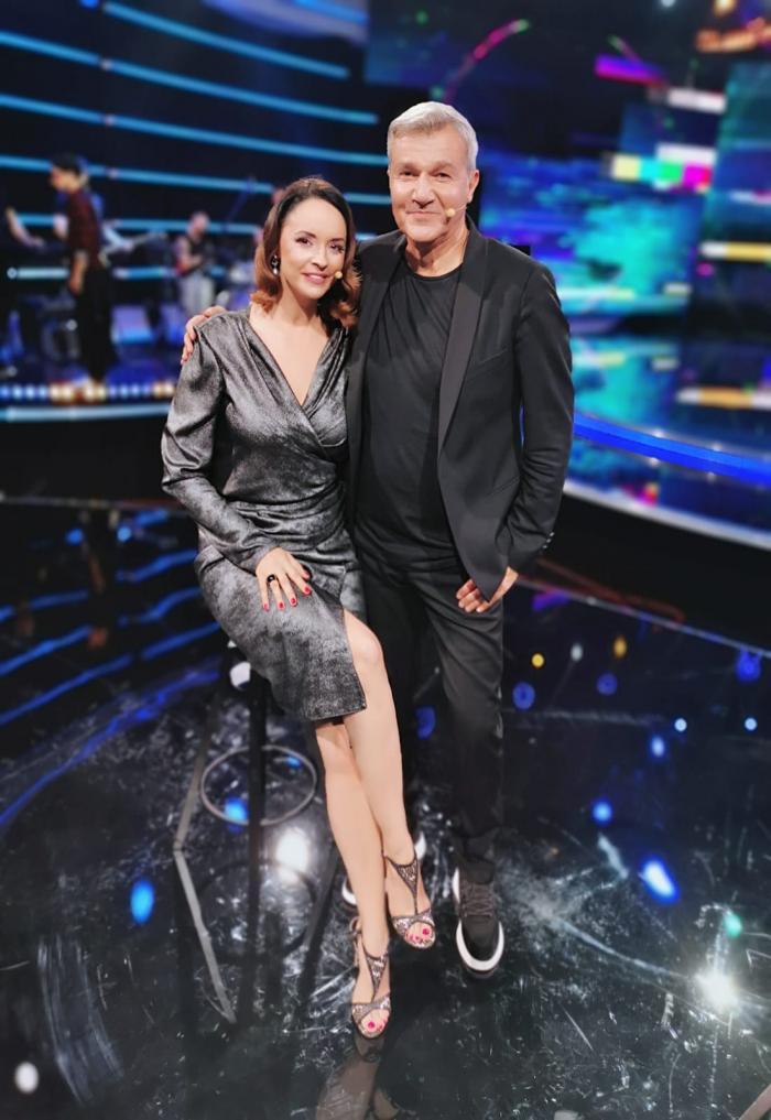Andreea Marin, invitat special în premiera show-ului de umor Antitalent