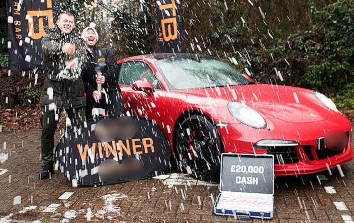 Un instalator a câștigat un Porsche 911 Carrera, l-a vândut, a câștigat altul două zile mai târziu