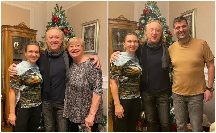 Simona Halep, colindată de Ştefan Hruşcă în Ajunul Crăciunului