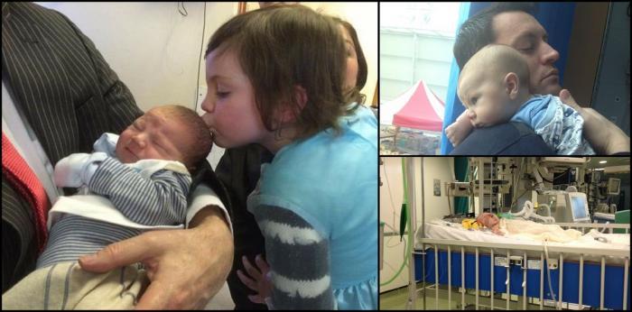 Copil salvat de sora lui