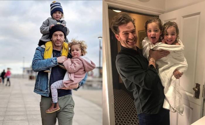 Tăticul blogger a creat o dezbatere online, unde internauţii şi-au dat cu părerea şi au încercat să le deosebească pe fete
