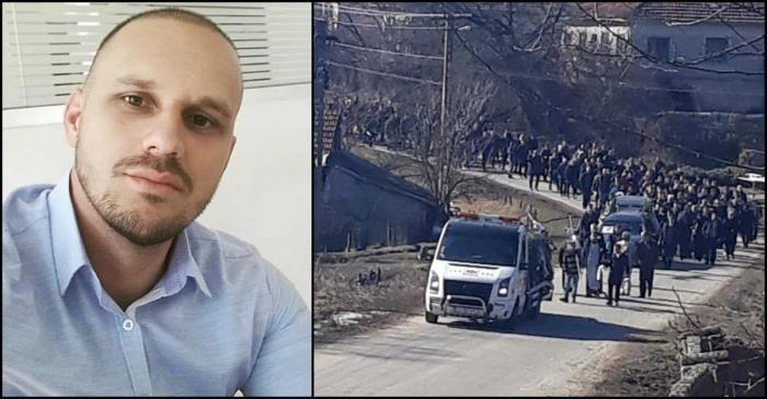 Alexandru Crăcui, condus pe ultimul drum. Tânărul mort pe scaunul frizerului, la Târgu Jiu, a fost înmormântat