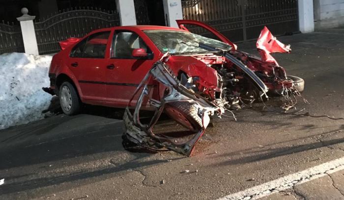 Accident grav la Vicovu de Jos