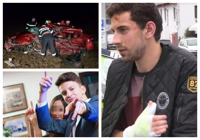 Şoferul beat, care a provocat teribilul accident de la Palazu Mic, a fost lăsat în libertate