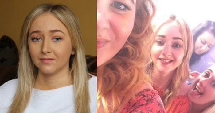Hannah avea 20 de ani când şi-a pierdut vederea