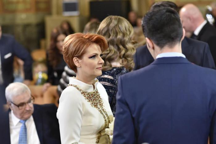 Lia Olguța Vasilescu și senatorul PSD Claudiu Manda s-au căsătorit de Dragobete, la Craiova