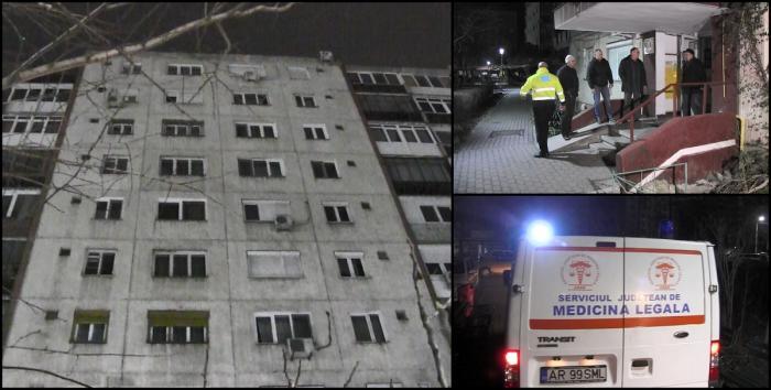 Crimă urmată de sinucidere, în Arad. Şi-a omorât nevasta, apoi s-a aruncat de la etajul 9. Copilul celor doi a sunat la 112