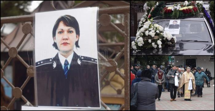 Poliţista moartă în Germania, condusă pe ultimul drum. Cristina a fost înmormântată în Botoşani