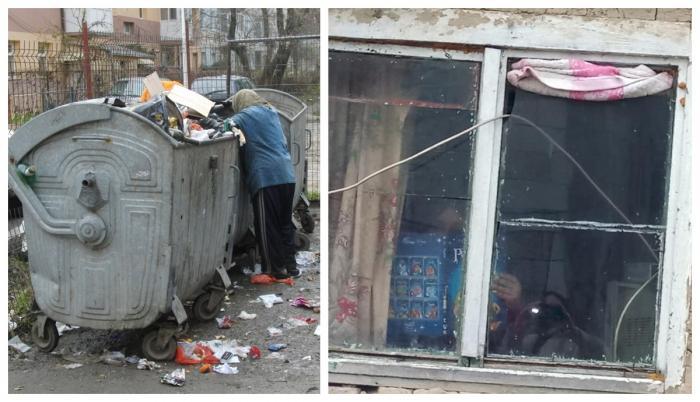 Mamă din Piteşti, amendată după ce a căutat haine în gunoaie