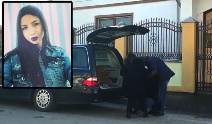 Trupul Valentinei, fata ucisă şi incendiată de fostul iubit, a fost ridicat de familie de la morga din Buzău