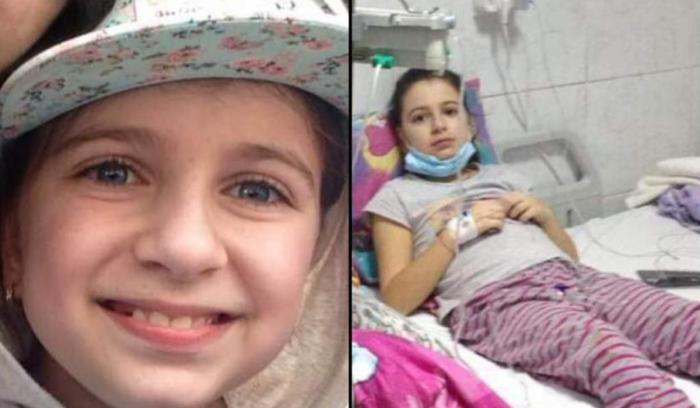 Adelina Juncu, fetiţa bolnavă de leucemie, lăsată fără banii din donaţiile de pe Facebook
