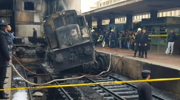 Explozie la un tren din Egipt