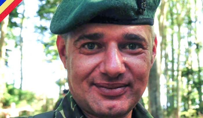 Militar erou în Armata Română, plutonierul major Leonard Ene a murit la 41 de ani