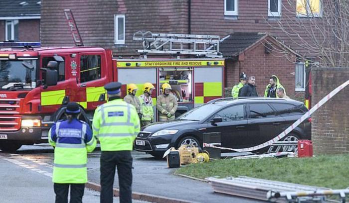 Copii morţi într-un teribil incendiu izbucnit într-un oraş din Marea Britanie