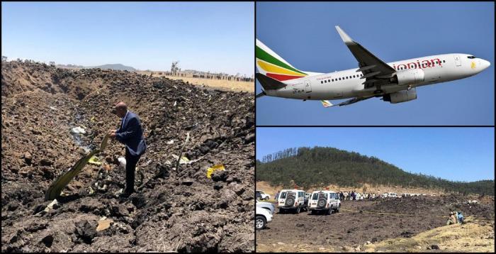 Primele imagini de la locul unde s-a prăbuşit avionul Boeing 737, având 157 de oameni la bord. Nu există supravieţuitori