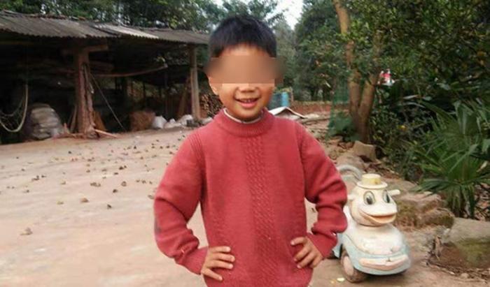 Copilul care s-a înecat într-o baltă din China