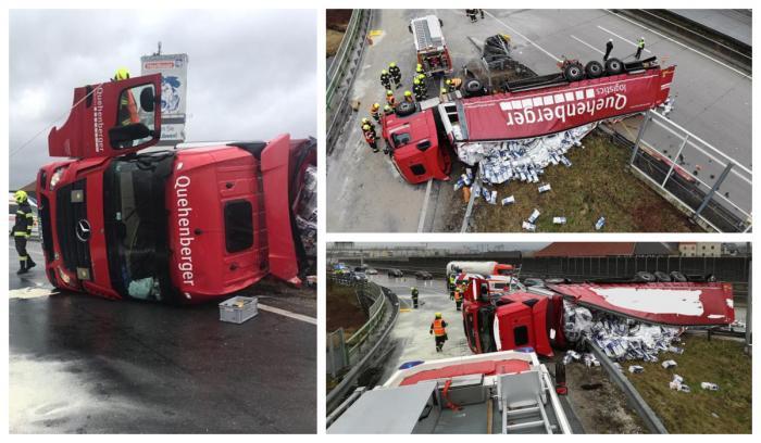 Accident cu român în Austria
