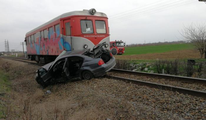 Şofer mort într-un accident de tren la Grădiştea, în Dolj