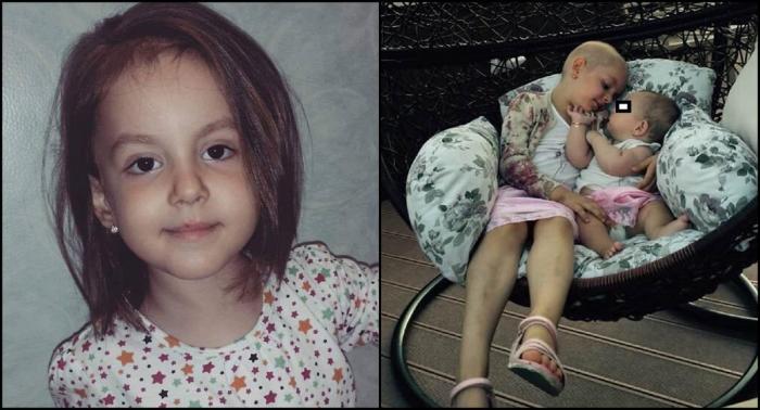 Mobilizare impresionantă pentru Cezara. Copila de numai 7 anişori luptă pentru a doua oară cu leucemia
