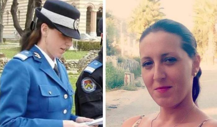 Alina Cocârlă, jandarmeriţa moartă la 35 de ani, a fost înmormântată la Găeşti