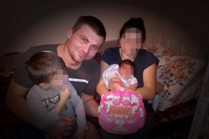Cătălin a murit la muncă în Belgia, la doar câteva săptămâni după ce îşi botezase fetiţa